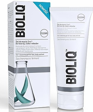 Gel nettoyant pour visage, corps et cheveux - Bioliq Clean Cleansing Gel For Face Body And Hair