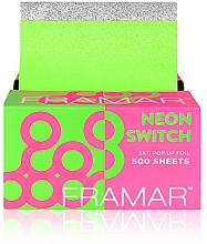 Parfums et Produits cosmétiques Feuilles gaufrées pour coloration des cheveux - Framar Pop-Ups Neon Switch