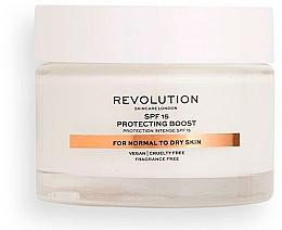 Parfums et Produits cosmétiques Crème au beurre de karité pour visage pour peaux normales à sèches - Revolution Skincare Moisturizing Cream SPF15
