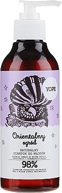 Shampooing à l'extrait de vanille - Yope Oriental Garden Shampoo