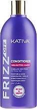 Parfums et Produits cosmétiques Après-shampooing , anti-frisottis hydratant au karité - Kativa Frizz Off Conditioner