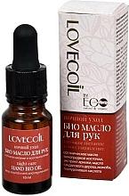 Parfums et Produits cosmétiques Huile naturelle pour mains - ECO Laboratorie Lovecoil Night Care Hand Bio-Oil