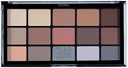 Parfums et Produits cosmétiques Palette de fards à paupières - MUA Pro 15 Shade Eyeshadow Palette Matte