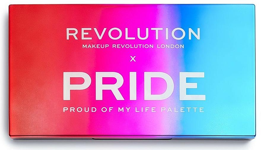 Palette professionnelle de fards à paupières - Makeup Revolution X Pride Proud Of My Life Shadow Palette — Photo N2