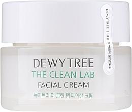 Parfums et Produits cosmétiques Crème à l'acide hyaluronique et céramides pour visage - Dewytree The Clean Lab Facial Cream