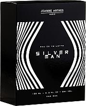 Parfums et Produits cosmétiques Jeanne Arthes Silver Man - Eau de Toilette