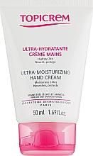 Parfums et Produits cosmétiques Crème pour mains très sèches et abîmées - Topicrem Ultra-Moisturizing Hand Cream