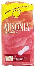 Parfums et Produits cosmétiques Protège-slips Anatomica Sanitary Towels, 14 pcs - Ausonia