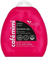 Parfums et Produits cosmétiques Gel douche à l'extrait de cassis et canneberge - Le Cafe de Beaute Cafe Mimi Shower Gel