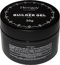 Parfums et Produits cosmétiques Gel de construction pour ongles, scintillant - Reney Cosmetics Builder Gel Shimmer