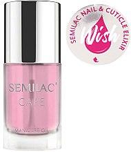 Parfums et Produits cosmétiques Huile-élixir pour ongles et cuticules - Semilac Care Nail & Cuticle Elixir Wish