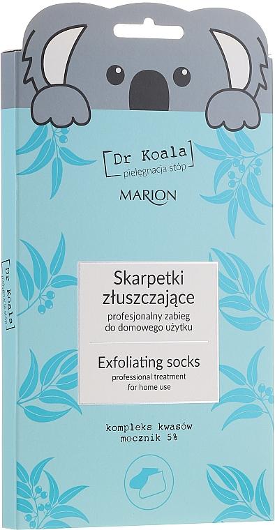 Chaussettes exfoliantes au complexe d'acides - Marion Dr Koala Exfoliating Socks