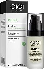 Parfums et Produits cosmétiques Sérum éclaircissant au rétinol pour visage - Gigi Retin A Brihtening Serum