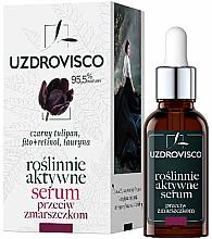 Parfums et Produits cosmétiques Sérum anti-rides pour visage - Uzdrovisco Black Tulip