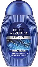 """Parfums et Produits cosmétiques Gel douche et shampooing """"Cool Blue"""" - Paglieri Felce Azzurra Shampoo And Shower Gel For Man"""