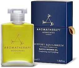 Parfums et Produits cosmétiques Huiule de bain et douche à l'huile de bergamote - Aromatherapy Associates Support Equilibrium Bath & Shower Oil