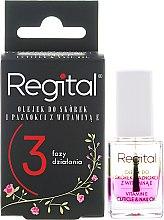 Parfums et Produits cosmétiques Huile triphasée à la vitamine E pour cuticules et ongles - Regital Three-phase Cuticle And Nail Oil