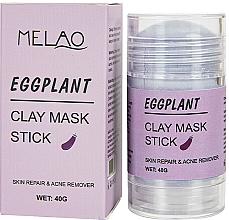Parfums et Produits cosmétiques Masque en stick pour visage Aubergine - Melao Eggplant Clay Mask Stick