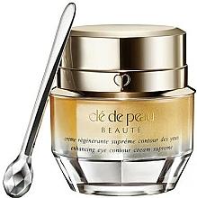 Parfums et Produits cosmétiques Crème à l'extrait d'iris contour des yeux - Cle De Peau Beaute Enhancing Eye Contour Cream Supreme