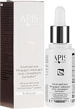 Parfums et Produits cosmétiques Sérum contour des yeux anti-cernes avec effet liftant - Apis Professional Serum
