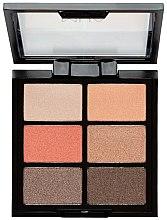 Parfums et Produits cosmétiques Palette de fards à paupières - MUA 6 Shade Palette