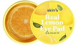 Parfums et Produits cosmétiques Patchs à l'extrait de citron contour des yeux - Skin79 Brightening Real Lemon Eye Pad