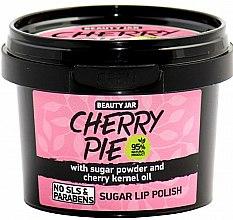 Parfums et Produits cosmétiques Gommage adoucissant au sucre et à l'huile de noyaux de cerise pour les lèvres - Beauty Jar Cherry Pie Sugar Lip Polish