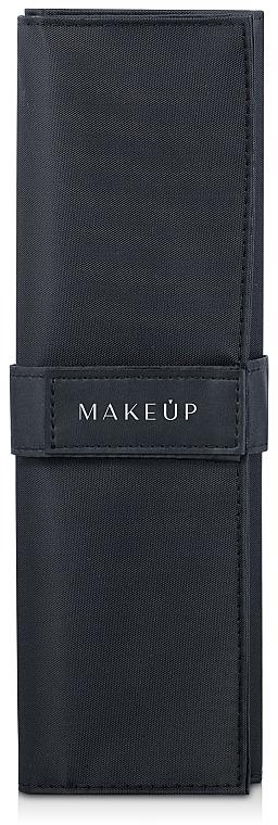 Étui pour 10 pinceaux de maquillage Basic, noir - Makeup