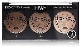 Parfums et Produits cosmétiques Palette contouring, 3 couleurs - Hean Pro-Countour Palette