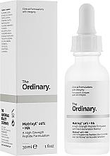 Parfums et Produits cosmétiques Sérum peptidique à l'acide hyaluronique pour visage - The Ordinary Matrixyl 10% + HA