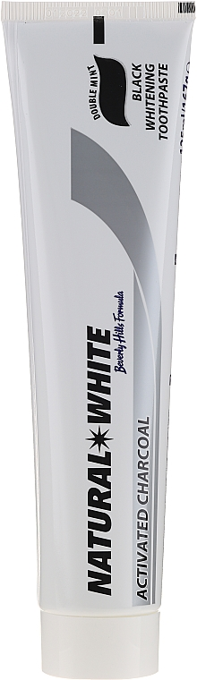 Dentifrice blanchissant au charbon actif - Beverly Hills Formula Charcoal Black Natural White Toothpaste — Photo N2