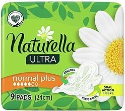 Parfums et Produits cosmétiques Serviettes hygiéniques avec ailes, 9 pcs - Naturella Ultra Normal Plus