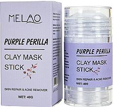 Parfums et Produits cosmétiques Masque en stick pour visage Périlla violette - Melao Purple Perilla Clay Mask Stick
