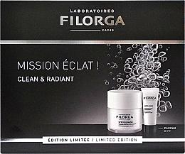 Parfums et Produits cosmétiques Filorga Clean & Radiant Set - Coffret (gommage et masque pour visage/50ml + masque pour visage/15ml)