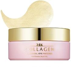 Parfums et Produits cosmétiques Patchs hydogel au collagène contour des yeux - Missha 24K Collagen Hydro Gel Eye Patches