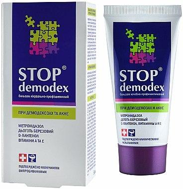 Baume anti-acné au goudron de bouleau et vitamines A et E - FBT FBT Stop Demodex