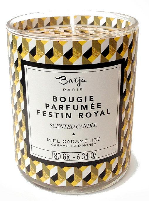 Bougie parfumée à la cire végétale, Miel caramélisé - Baija Festin Royal Scented Candle — Photo N1