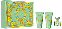 Parfums et Produits cosmétiques Versace Versense - Coffret (eau de toilette/50ml + lotion corporelle/50ml + gel bain et douche/50ml)