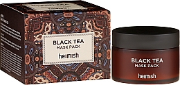 Parfums et Produits cosmétiques Masque apaisant pour visage - Heimish Black Tea Mask Pack