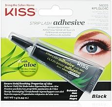 Parfums et Produits cosmétiques Colle noire à faux cils - Kiss Strip Lash Adhesive Black