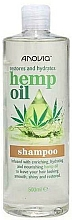 Parfums et Produits cosmétiques Shampooing à l'huile de chanvre - Anovia Hemp Oil Shampoo Restores and Hydrates