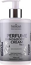 Parfums et Produits cosmétiques Crème parfumée pour mains et corps - Farmona Professional Perfume Hand&Body Cream Men