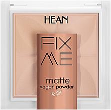 Parfums et Produits cosmétiques Poudre matifiante - Hean Fix Me Matte Vegan Powder
