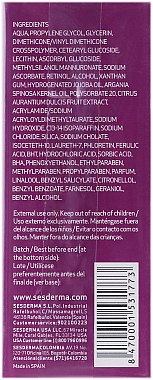 Sérum liposomal à l'acide férulique pour visage - SesDerma Laboratories Ferulac Serum — Photo N3