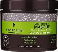 Parfums et Produits cosmétiques Masque à l'huile de macadamia pour cheveux - Macadamia Professional Ultra Rich Repair Mask
