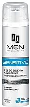 Parfums et Produits cosmétiques Gel de rasage à l'extrait d'aloe vera - AA Men Sensitive Moisturizing Shaving Gel