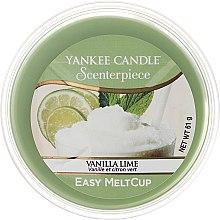 Parfums et Produits cosmétiques Cire parfumée Vanille et citron vert - Yankee Candle Vanilla Lime Melt Cup