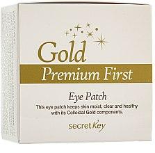 Parfums et Produits cosmétiques Patchs à l'Or colloïdal pour contour des yeux - Secret Key Gold Premium First Eye Patch