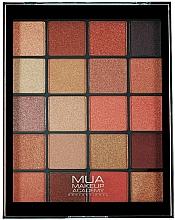 Parfums et Produits cosmétiques Palette d'ombres à paupières - MUA 20 Shade Eyeshadow Palette