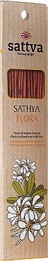 Bâtons d'encens à l'arôme floral - Sattva Flora